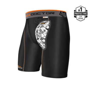 Shock Doctor 236 Compression Short with AirCore™  Soft Cup