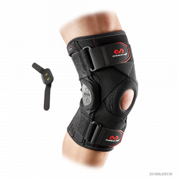 McDavid 429X Knee Brace with Polycentric Hinges & Cross Straps