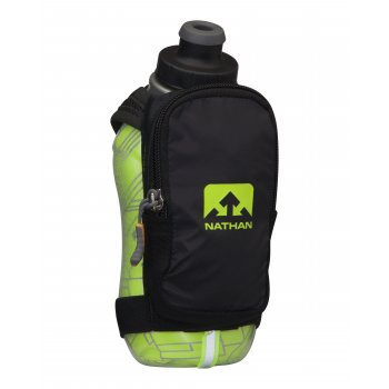 Nathan SpeedShot Plus Insulated 355 ml Black/Safety Yellow